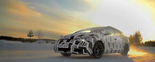 Honda Civic Tourer, filmul dezvoltarii break-ului japonez