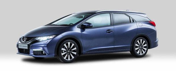 Honda Civic Tourer: Primele imagini oficiale!