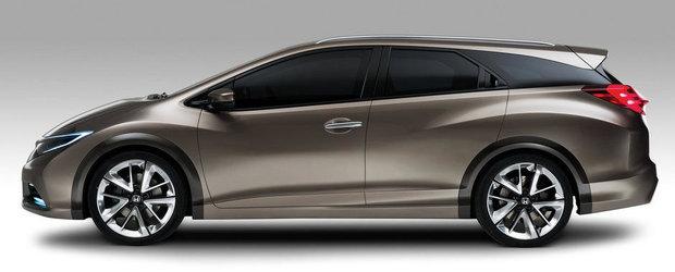 Honda Civic Tourer vine cu cel mai mare portbagaj pentru segmentul sau