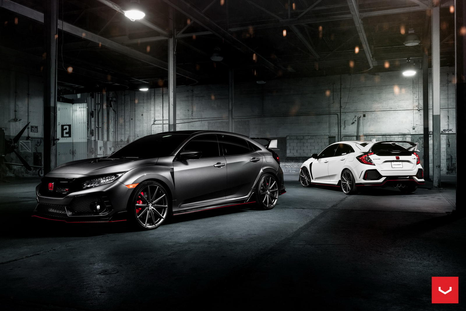 Honda Civic Type R cu jante Vossen - Honda Civic Type R cu jante Vossen