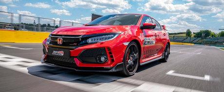 Honda Civic Type R cucereste (si) circuitul Hungaroring. Noul record mondial pentru masinile cu tractiune fata