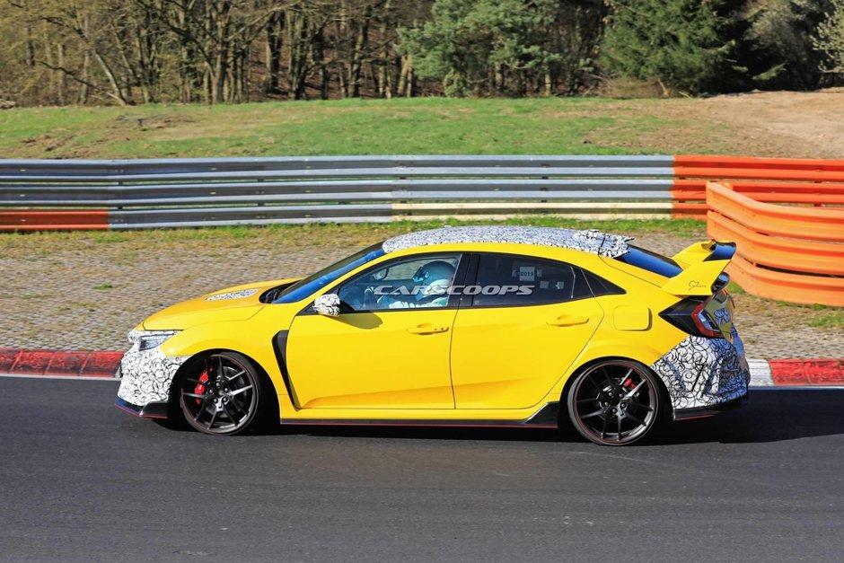 Honda Civic Type R Facelift - Poze Spion