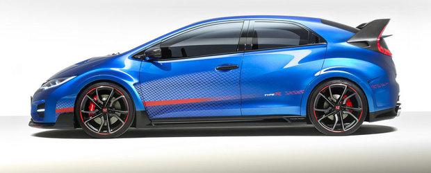 Honda Civic Type R imbraca o noua costumatie pentru Paris