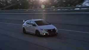 Honda Civic Type R in actiune