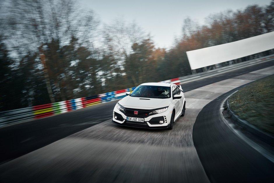 Honda Civic Type R la Nurburgring