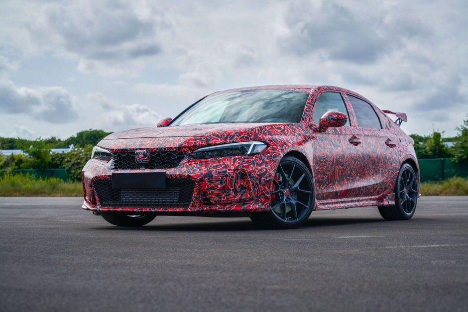 Honda Civic Type R - Primele poze