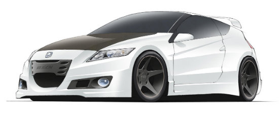 Honda CR-Z by Mugen - Un hibrid pe steroizi