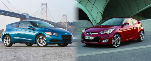 Honda CR-Z versus Hyundai Veloster
