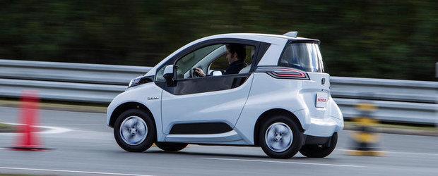 Honda dezvaluie cvadriciclul Micro Commuter