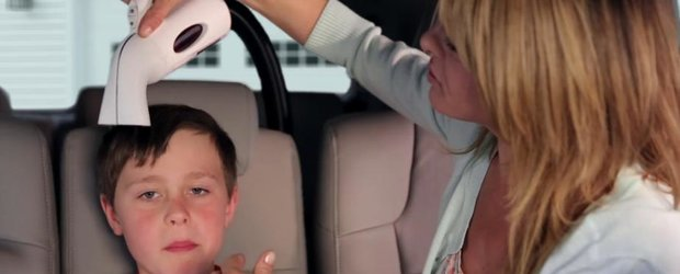 Honda Hair: sistemul oferit de japonezi pentru a-ti transforma masina in coafor