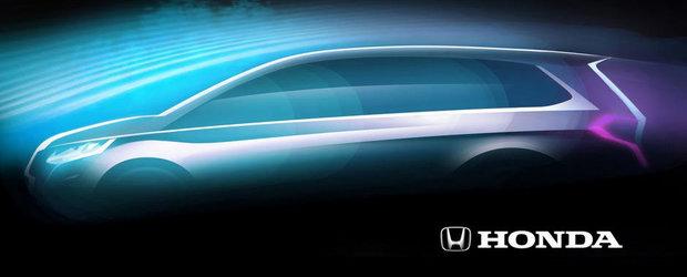 Honda lanseaza un nou MPV