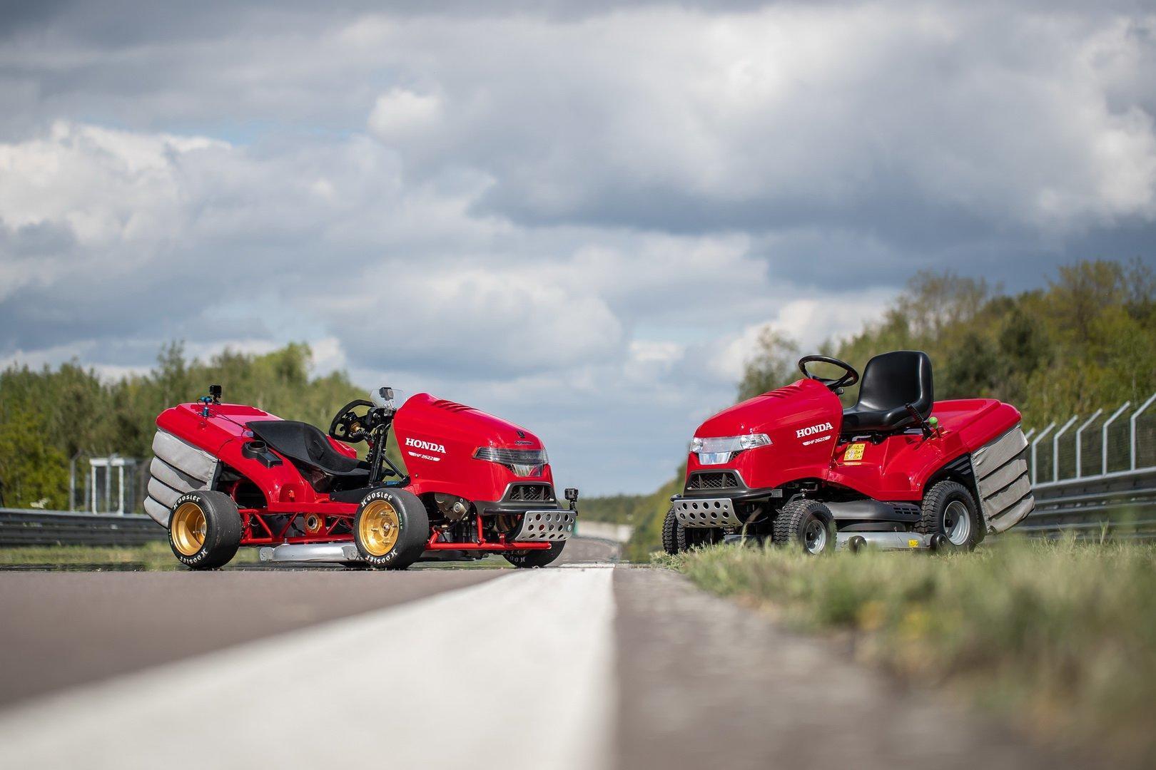 Honda Mean Mower V2 - Honda Mean Mower V2
