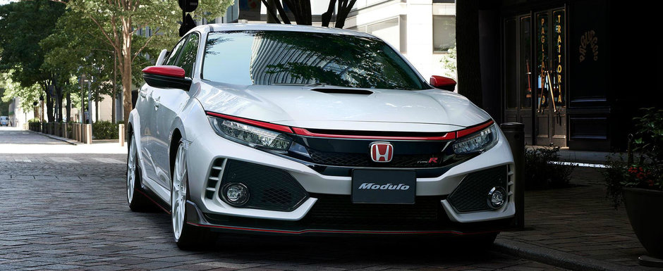 Honda nu mai sta dupa tuneri. Compania japoneza s-a apucat de una singura sa modifice noul Civic Type R