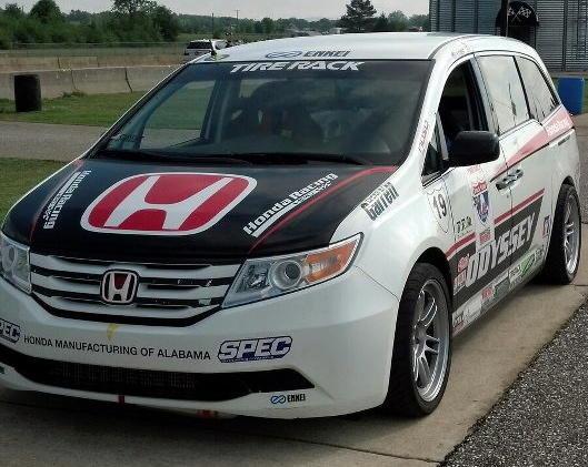 Honda Odyssey Pikes Peak 2013