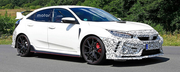 Honda pregateste cateva noutati pentru Civic Type R. Sa fie mai multi cai si tractiune INTEGRALA?
