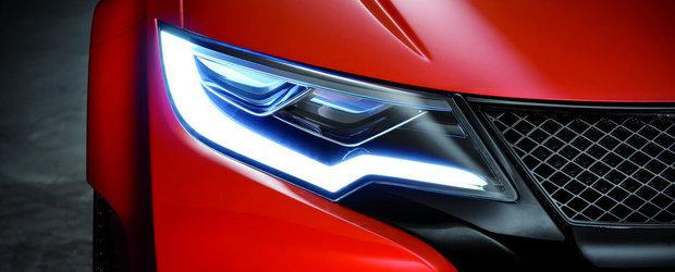 Honda publica noi imagini ale conceptului Civic Type R