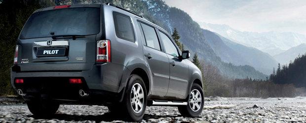 Honda recheama in service aproape 250.000 de autovehicule cu probleme la sistemul de franare