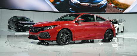 Honda s-a hotarat. Noile Civic Si Coupe si sedan vor fi lansate in 6 aprilie