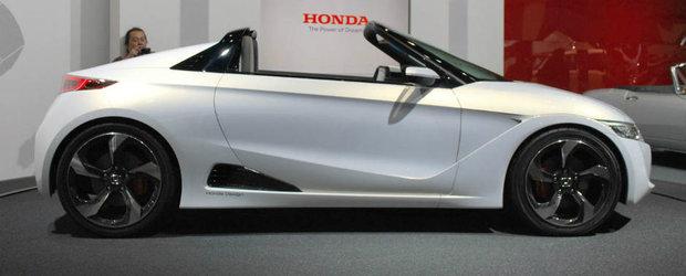 Honda S660, roadsterul cu motor de motocicleta si RWD intra in fabricatie