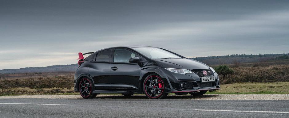 Honda spune adio actualului Civic Type R cu versiunea Black Edition