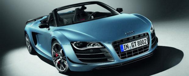 HOT: Audi dezvaluie noul R8 GT Spyder!