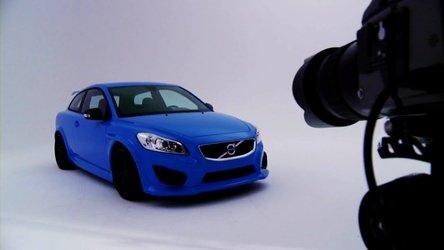 Hot & Blue: Volvo C30 Concept by Polestar