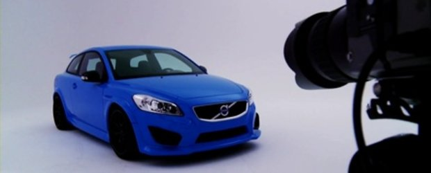 Hot & Blue: Volvo C30 Concept by Polestar