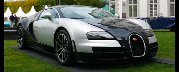 HOT: Bugatti Veyron Supersport se arata intr-o noua combinatie de culori!