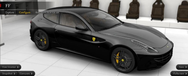 HOT: Configureaza-ti propriul tau Ferrari FF!