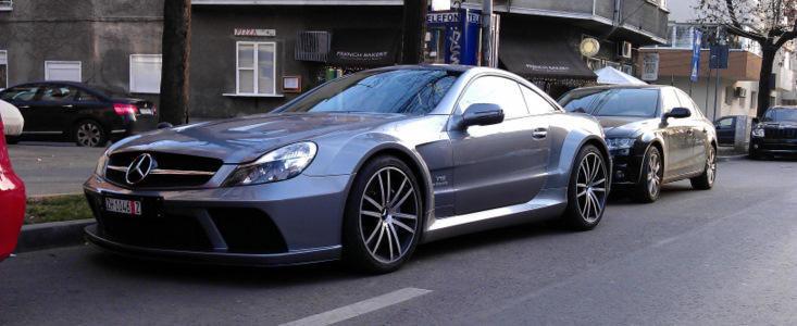 HOT NEWS: Mercedes SL65 AMG Black Series in Romania