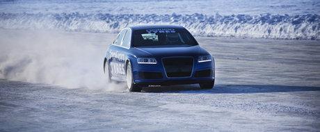 Hot news! Nokian a depasit recordul Bentley de viteza pe gheata!