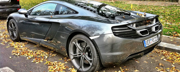 HOT NEWS: Noul McLaren MP4-12C a ajuns in Romania!