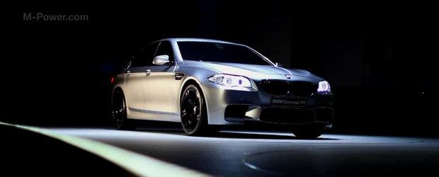 HOT: Noul BMW M5 Concept isi face aparitia in primul video oficial!