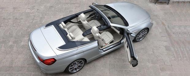 HOT: Noul BMW Seria 6 Convertible saluta publicul iubitor de modele cabrio!