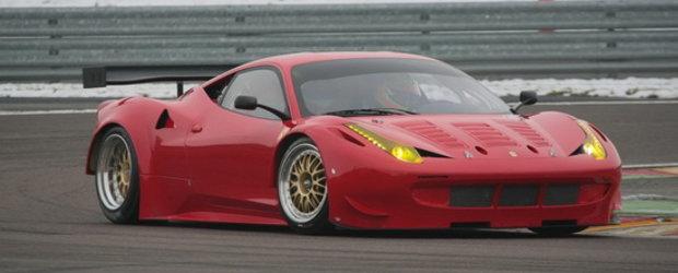 HOT: Noul Ferrari 458 Italia se pregateste de cursele GT2!