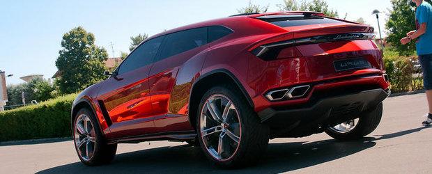 HOT: Noul Lamborghini Urus Concept isi face aparitia in primele imagini reale!