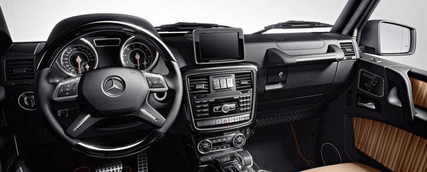 HOT: Primele imagini oficiale cu noul Mercedes G63 AMG