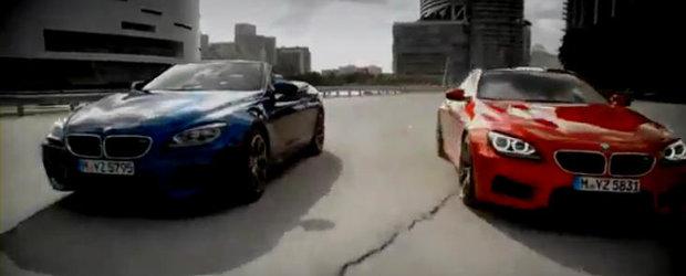 HOT: Primele imagini video cu noile BMW M6 Coupe si M6 Convertible