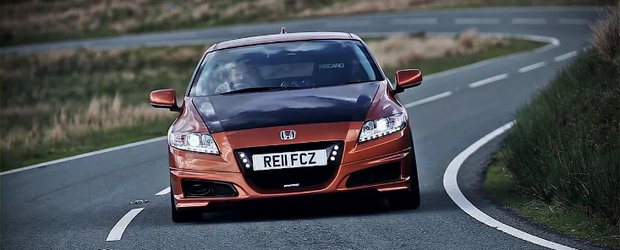 HOT: Priveste noua Honda CR-Z by Mugen intr-un prim video oficial!