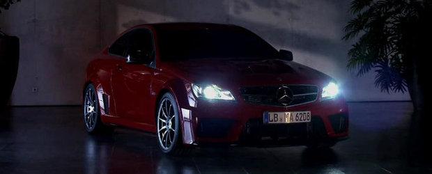 Hot Promo: Atunci cand noaptea se lasa, noul C Black Series prinde viata!