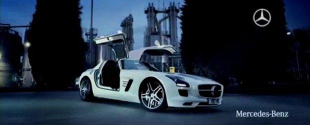 Hot Promo: Mercedes SLS AMG distruge linistea orasului