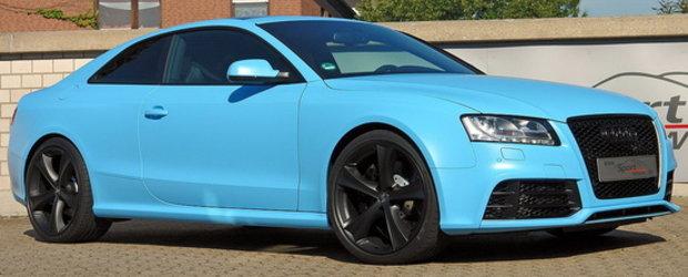 HOT: Un Audi RS5 pregatit sa alunge monotonia