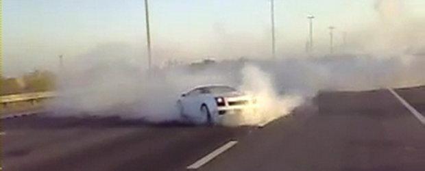 Hot Video: Cerculete in mijlocul autostrazii!