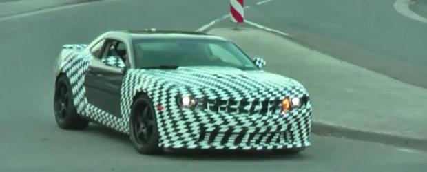 Hot Video: Chevy Camaro Z28, surprins pe pelicula!