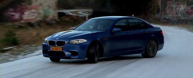 HOT VIDEO: Din nou, o portie de drifturi cu ultimul BMW M5!