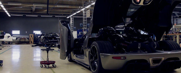 HOT VIDEO: In vizita la constructorul suedez Koenigsegg