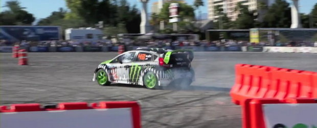 Hot Video: Ken Block, demonstratie senzationala la SEMA Show 2010!