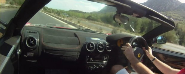 Hot Video: La volanul lui Ferrari Scuderia Spider 16M!