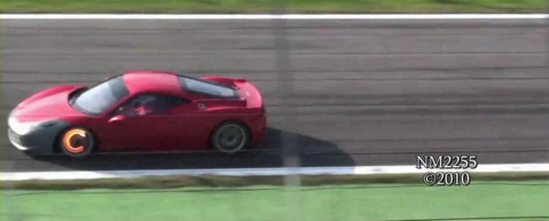 Hot Video: Noul Ferrari 458 Challenge suna... demonic!