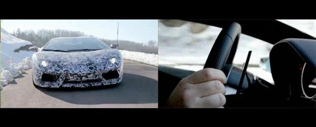 Hot Video: Noul Lamborghini LP700-4 ne invita la bordul sau!